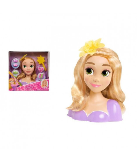 Disney Princesses - Tete a Coiffer - Raiponce