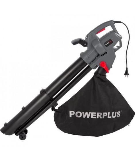 POWER PLUS Aspirateur souffleur broyeur de feuilles 3300W POWEG9013