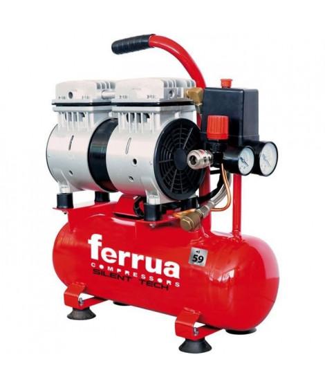 FERRUA COMPRESSEUR SILENCIEUX 6L 0,75 HP