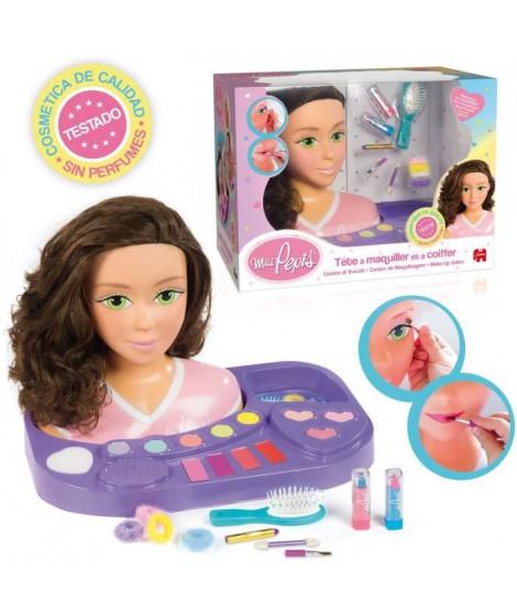 JUMBO - Tete a coiffer et maquiller Miss Pepis - Jeu d'imitation