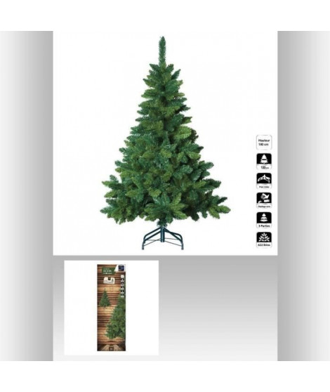 FEERIC LIGHTS & CHRISTMAS Sapin Blooming - 180 cm - Vert