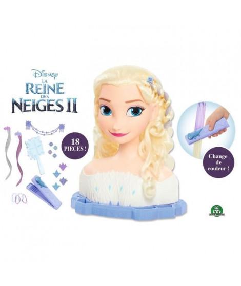 La Reine des Neiges 2 - Tete a Coiffer Deluxe - Elsa