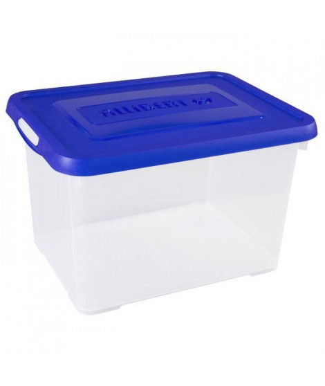 ALLIBERT Boîte de rangement Handy - Couvercle bleu - 20 L