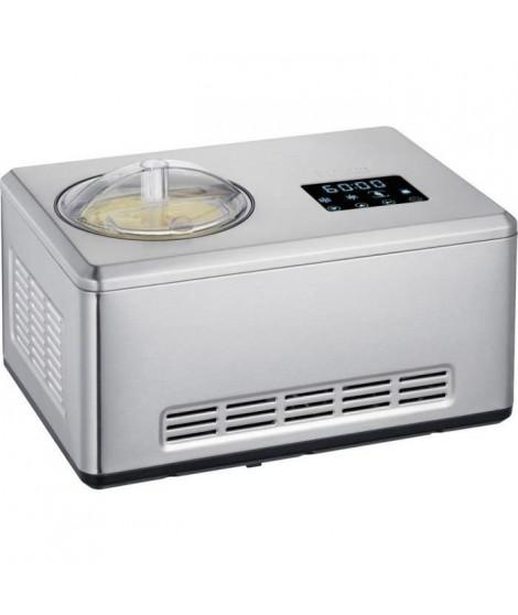 SEVERIN EZ7405 Sorbetiere Yaourtiere 2 en 1 - Fonction innovante pour la realisation de glaces sorbets et de yaourts / inox b…