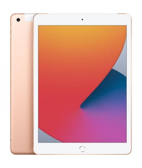 Apple - 10,2 iPad 8 Retina - WiFi + Cellulaire 32 Go - Or