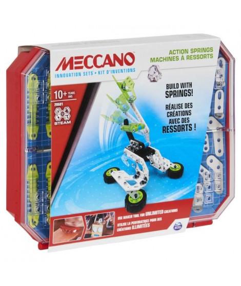 MECCANO - SET 4 KIT COMPLET D'INVENTIONS RESSORTS Meccano - 6053909 - Jeu de construction enfant