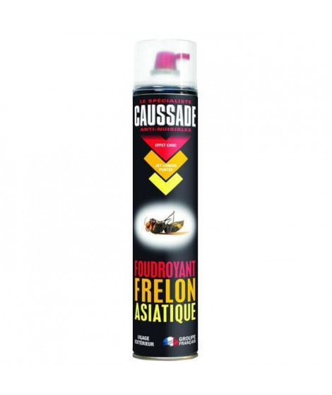 CAUSSADE CAFASIA750N Foudroyant Frelon Asiatique - 750 ml Cau