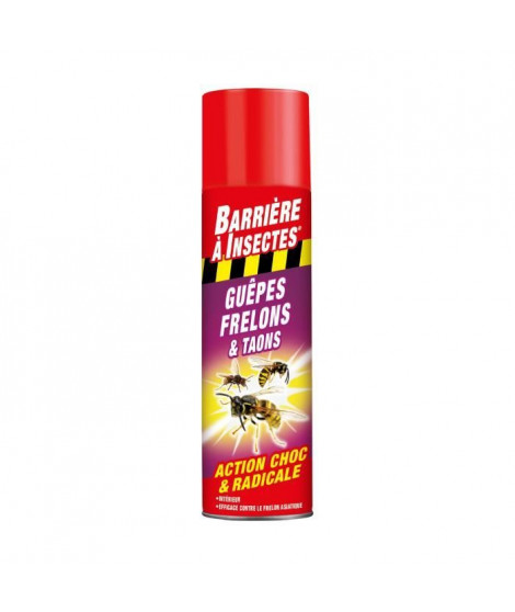 BARRIERE A INSECTES Anti-nuisible Guepes, Frelons, Taons - 400 mL