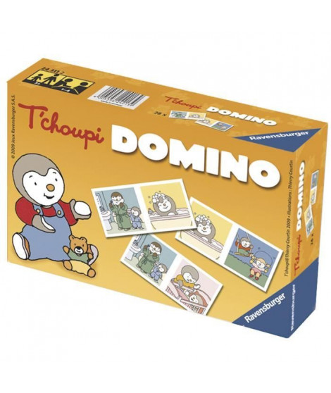 T'Choupi - Domino