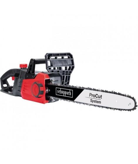 SCHEPPACH Tronçonneuse électrique CSE2700 - 45,5 cm - 2700 W - Noir et rouge