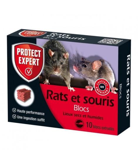 Protect Expert FB300 Souris - Céréales + Boîte Appât Intégrée 80 g Pex