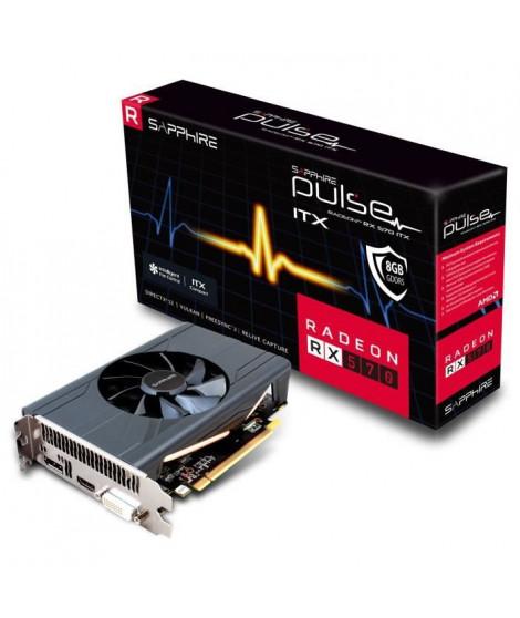 Carte graphique Sapphire Radeon RX 570 ITX PULSE 8 Go (11266-37-20G)