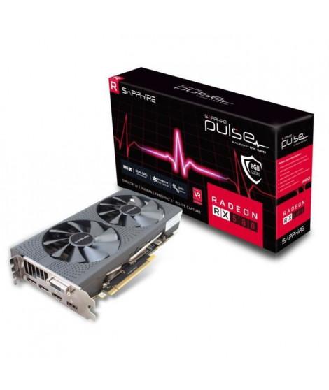 Sapphire Carte graphique AMD PULSE Radeon™ RX 580 8GD5 - 8 Go - GDDR5