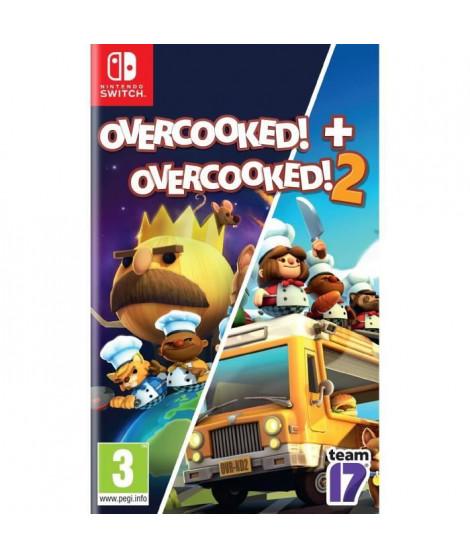 Overcooked! + Overcooked! 2 Jeu Nintendo Switch