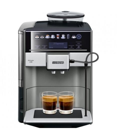 SIEMENS TE655203RW Machine a café expresso entierement automatique EQ6 plus S500 - Anthracite