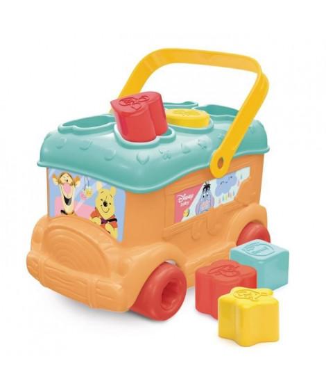 CLEMENTONI Disney Baby - Le bus des formes de Winnie - Jeu d'évei