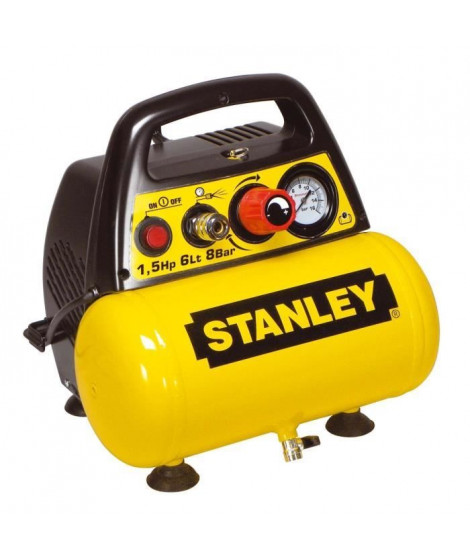 STANLEY Compresseur d'air 6L 1,5HP