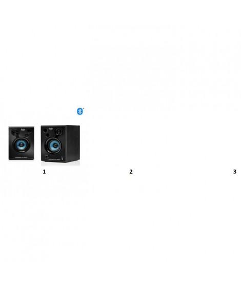 HERCULES Enceinte Bluetooth DJ DJSPEAKER 32 SMART - 2 fois 15 Watts RMS - 60 Watts Peak Power - Woofer de 3 pouces