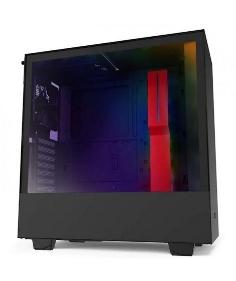 NZXT H510i Verre trempé USB 3.1 RGB Noir-Rouge