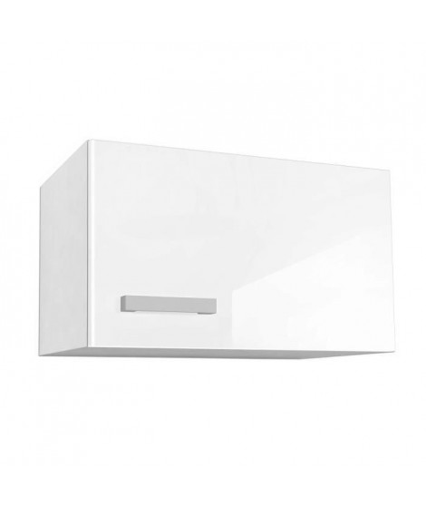 START Caisson haut de cuisine sur hotte L 60 cm - Blanc Brillant