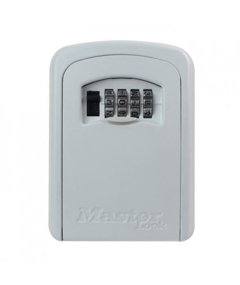 MASTER LOCK Boite a clés sécurisée - Format M - Blanc - Coffre a clé - Rangement sécurisé