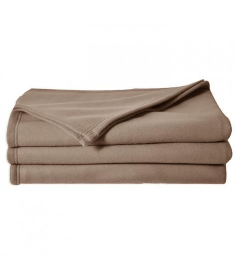 POLECO couverture polaire TAUPE 220