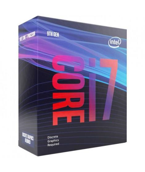 Processeur Intel Core i7 9700F (3,0 GHz / 4.7 GHz) - 8 coeurs - Socket 1151