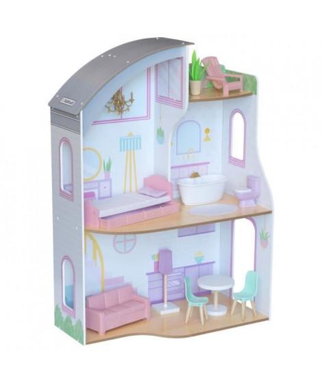 KidKraft - 10237 - Maison de poupées en bois Elise