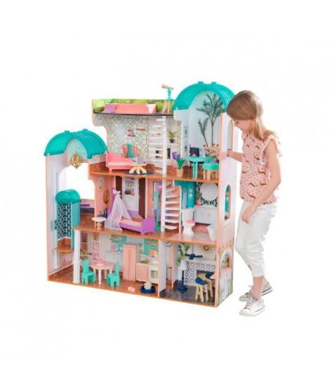 KidKraft - 65986 - Maison de poupées en bois Camila