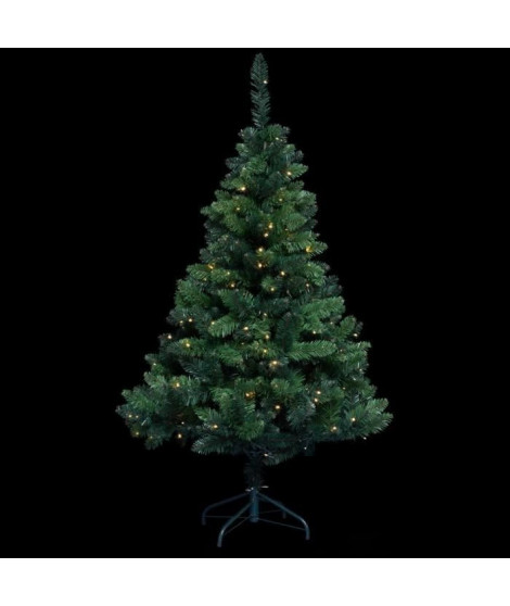 FEERIC LIGHTS & CHRISTMAS Décoration intérieur Sapin Blooming - 150 LED - H 150 cm