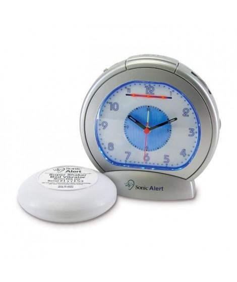 Réveil malentendant Classic analogique avec vibreur GEEMARC SBA 475SS - Réglage 12 h