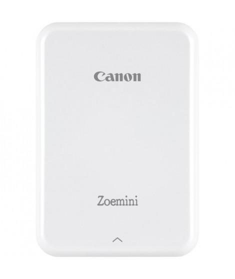 CANON Zoemini Imprimante photo de poche - Photo : 5 x 7,6 cm - Blanc + 10 Films inclus