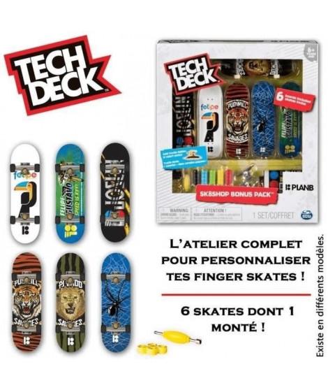 Tech Deck - Skate Shop Bonus - Pack modele aléatoire - Réf. 6028845