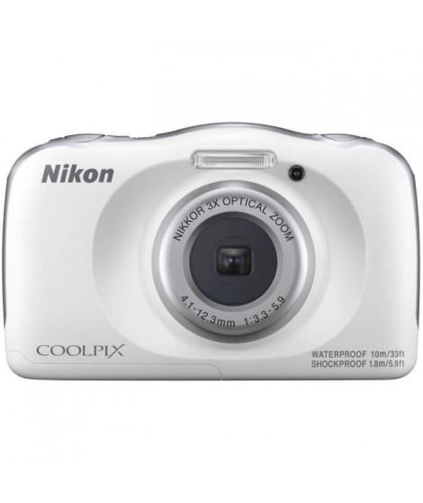 NIKON COOLPIX W150 VQA110EA - 13Mp CMOS -3x, 2,7 - QVGA, 1080p - Water Proof - Shock Proof - WIFI