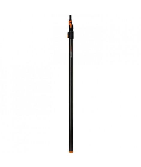 FISKARS Manche télescopique 140-250cm Quikfit™ pour scies et nettoyeur de gouttieres
