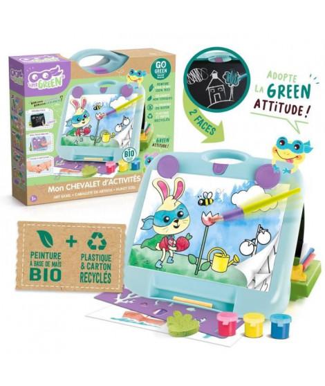 SUPER GREEN Pupitre créatif 2-en-1 bio