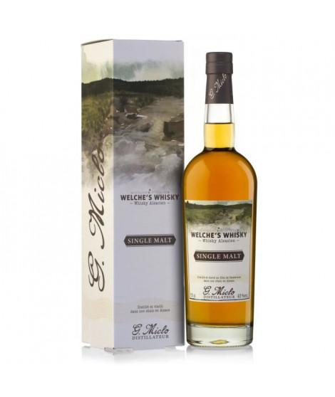 G. Miclo - Welche's Whisky - Single Malt Alsacien - 43% - 70 cl - Etui