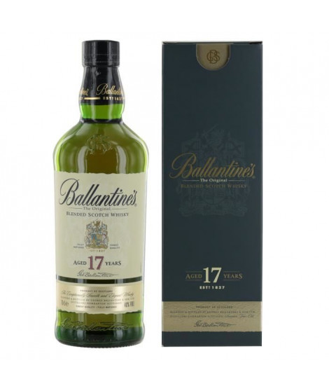 Whisky Ballantine's 17 ans - 70cl - 40°