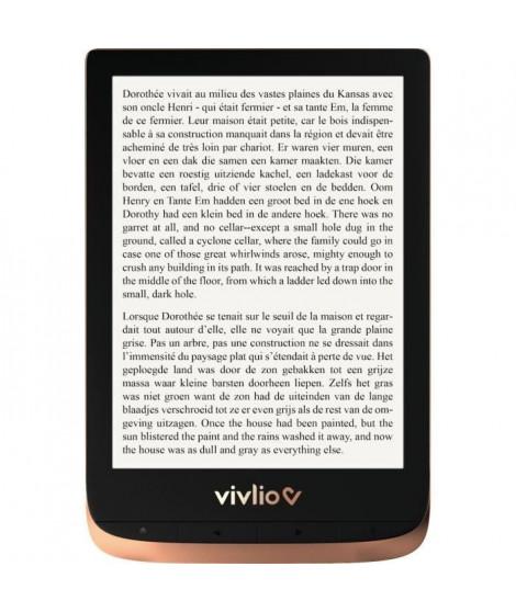 Liseuse numérique Vivlio Touch HD + Pack d'ebooks de plus de 8 Ebooks OFFERT
