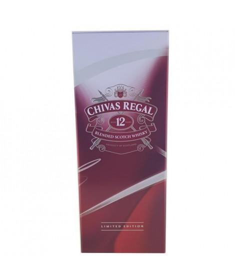 Chivas 12 ans - Blended Whisky - 40%vol - 70cl - Etui en métal Edition Limitée