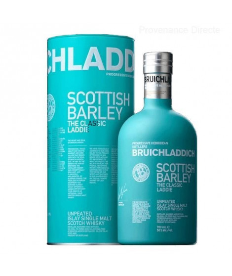 Bruichladdich - Scottish Barley - The Classic Laddie - Whisky - 50.0% Vol. - 70 cl