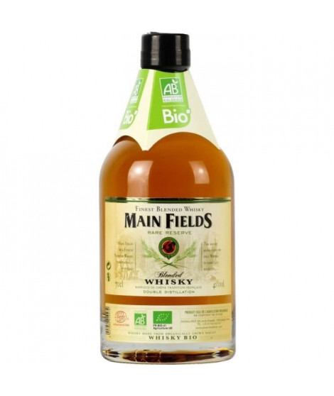 Main Fields - Blended Whisky BIO - 40%vol - 70cl
