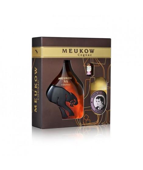 Meukow Cognac 35cl  - Coffret Cocktail Horse's Neck