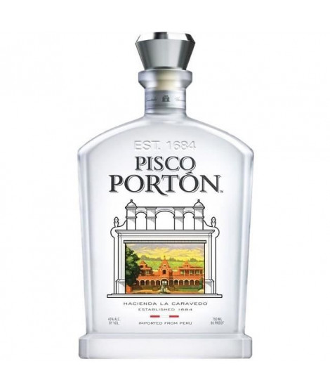 Pisco Porton 70cl 43° Pérou