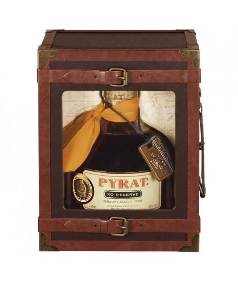Coffret Rhum - Pyrat XO Reserve - 40.0% Vol. - 70 cl - Malle Voyage
