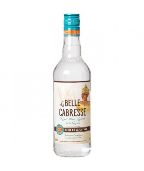 Rhum Blanc 50° 70cl  Belle Cabresse