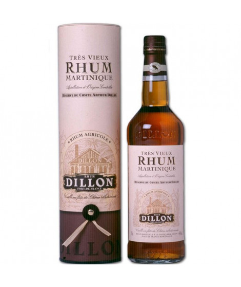 Rhum Dillon tres vieux agricole AOC  43%