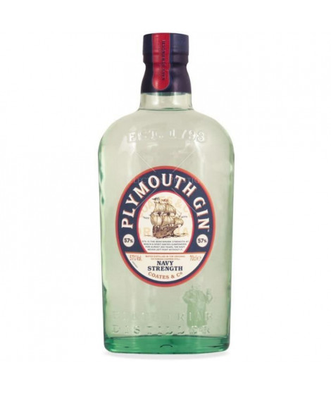 GIN PLYMOUTH  Navy strength 57° 70cl