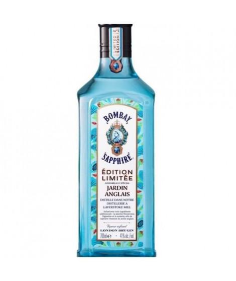 Bombay Sapphire - Jardin Anglais - Edition Limitée - London Dry Gin - 41,0 % Vol. - 70 cl - Etui