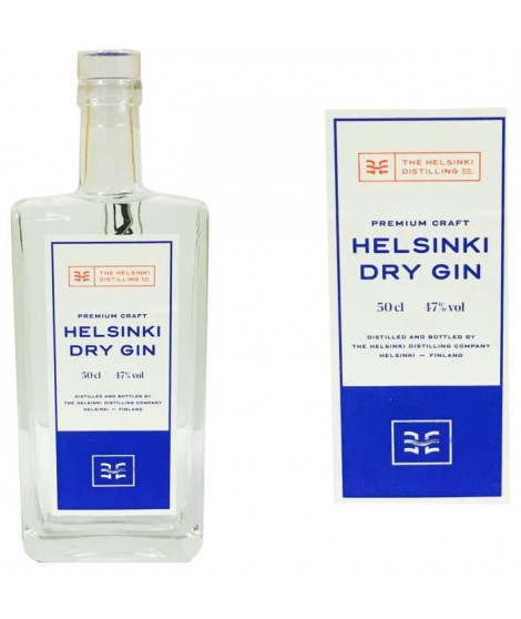 Helsinki Dry Gin 0.50L 47%
